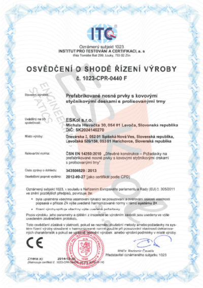 Z - Certifikát JPEG